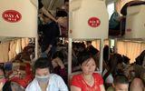 Cảnh nhồi nhét kinh hoàng xe khách dịp nghỉ lễ 30/4-1/5: Xe 45 chỗ chở 104 người