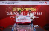 """Vietlott trao giải thưởng Jackpot """"khủng"""" gần 120 tỷ đồng cho chủ nhân đến từ Cà Mau"""