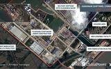 Ảnh vệ tinh hé lộ những đặc điểm đầu tiên về tàu sân bay lớn nhất của Trung Quốc