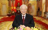 Tổng Bí thư, Chủ tịch nước Nguyễn Phú Trọng đã gửi điện mừng đến Tổng thống Nhà nước Israel
