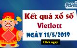Trực tiếp kết quả xổ số Vietlott thứ 7 ngày 11/5/2019