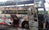 Đồng Nai: Cháy xe khách giường nằm, 45 hành khách hoảng loạn tháo chạy