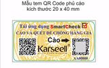 Thông báo V/v bổ sung tem chống hàng giả của công ty K&R Việt Nam