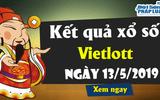 Trực tiếp kết quả xổ số Vietlott thứ 3 ngày 14/5/2019