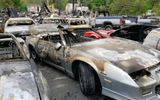 Video: 50 ôtô cháy dữ dội trên phim trường