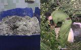 Vụ 2 thi thể giấu trong bê tông ở Bình Dương: Cận cảnh công an khám nghiệm hiện trường
