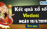 Kết quả xổ số Vietlott ngày 18/5/2019