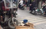 Tin trong nước - Xe ba bánh lật nghiêng đè người đàn ông tử vong trên phố Hà Nội