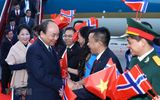 Thủ tướng Nguyễn Xuân Phúc tới Oslo, bắt đầu thăm chính thức Na Uy