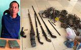 Pháp luật - Bắt giữ đối tượng mua bán heroin, thu giữ nhiều vũ khí nóng