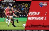 """Bóng đá - Buriram 1-0 Muangthong: Văn Lâm """"bó tay"""", Xuân Trường đá 10 phút cuối"""