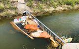 Công an Hà Tình truy tìm người vứt xác lợn nhiễm dịch tả châu Phi xuống kênh
