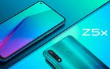Ra mắt Smartphone Vivo Z5x màn hình đục lỗ giá từ 4,7 đến 6,7 triệu đồng