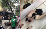 Nghi vấn thanh niên ngáo đá xông vào cướp tiệm vàng giữa phố Hà Nội