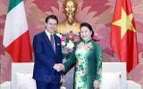 Chủ tịch Quốc hội Nguyễn Thị Kim Ngân hội kiến Thủ tướng Italy