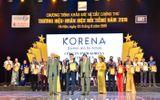 """Korena Cosmetics gây tiếng vang khi đạt danh hiệu """"Thương Hiệu - Nhãn Hiệu Nổi Tiếng"""" năm 2019"""
