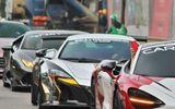 Thế giới Xe - Dàn siêu xe tham dự Car Passion 2019 nối đuôi nhau rời Hà Nội