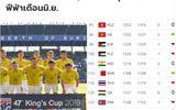 Thể thao - Thua Việt Nam 20 bậc trên bảng xếp hạng FIFA, báo Thái nói điều bất ngờ