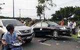 Tin trong nước - Bắt giữ nghi can gọi nhóm xăm trổ vây quanh xe cảnh sát