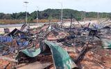 Hiện trường tan hoang vụ nổ ở dự án sân golf khiến 2 người chết, 9 người bị thương