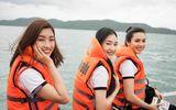 Tin tức giải trí - Hoa hậu Mỹ Linh cùng dàn người đẹp vượt sóng tham gia hành trình ý nghĩa