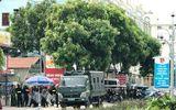 Nóng: Hàng chục cảnh sát được huy động khẩn tới biển Hải Tiến ngăn chặn xô xát