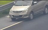 Tước bằng lái, xử phạt 1 triệu đồng nữ tài xế lùi xe trên cao tốc Hà Nội-Hải Phòng