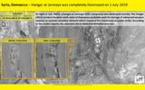Israel bị cáo buộc tấn công Syria, biến kho vũ khí hiện đại thành đống tro tàn