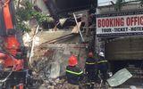 Xác minh nguyên nhân ngôi nhà 2 tầng trên phố Hàng Bông bị sập
