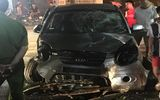 """Ô tô """"điên"""" gây tai nạn liên hoàn, 7 người bị thương tại Bắc Giang"""