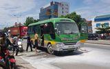 Nghệ An: Cháy xe khách trên quôc lộ 1A, hành khách hoảng loạn kêu cứu