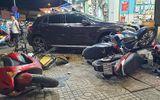 """Nữ tài xế Mercedes gây tai nạn liên hoàn, """"lùa"""" hàng loạt xe máy"""