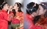 """Đông Nhi - Ông Cao Thắng diện đồ cô dâu chú rể, làm """"đám cưới"""" ngay ở sân bay"""