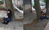 Cộng đồng mạng - Bị bố mẹ đuổi khỏi nhà vì trượt tốt nghiệp, nữ sinh ngồi khóc thút thít ven đường