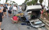 Xe ô tô gây tai nạn liên hoàn rồi bỏ chạy, 2 hành khách nhập viện cấp cứu