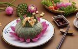 Ăn - Chơi - Bật mí cách làm món cơm hấp lá sen thanh mát ngày hè