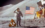 """Đời sống - Mặt trăng sẽ ra sao nếu bị bao phủ trong """"chất thải"""" của con người?"""
