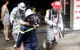 Hà Nội: Cảnh sát giải cứu thai phụ mắc kẹt trong đám cháy lúc rạng sáng