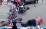 Video: Ám ảnh hiện trường xe khách tông hàng loạt xe máy, 5 người thương vong ở Quảng Ninh
