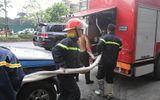 Hỏa hoạn tại quán karaoke 7 tầng ở Hà Nội, nhiều người hốt hoảng chạy thoát thân