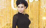 Trương Thị May gây ấn tượng với áo dài đen, hội ngộ Bình Minh - Trấn Thành tại sự kiện