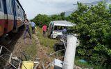Xót xa hiện trường vụ tai nạn đường sắt nghiêm trọng ở Bình Thuận khiến 3 người tử vong