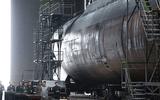 Tàu ngầm mới của Triều Tiên có khả năng mang theo 3 tên lửa đạn đạo xuyên lục địa