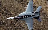 Tiêm kích F/A-18E của Hải quân Mỹ bất ngờ gặp nạn tại California
