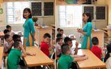 Cô giáo tiểu học gây sốt mạng xã hội: Mặt đẹp, dáng xinh, ảnh ngoài đời vô cùng nóng bỏng