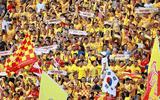 """Vòng 19 V-League 2019: """"Chảo lửa"""" Thiên Trường xác lập kỷ lục mới trong trận HAGL- Dược Nam Hà"""