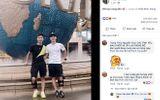 Văn Đức khoe ảnh rạng rỡ cùng Đình Trọng trong lần tái khám tại Singapore