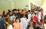 Hàng ngàn tân SV làm thủ tục nhập học đợt 1 tại Trường ĐH Đại Nam