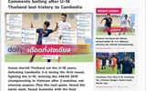 """U18 Thái Lan gây sốc vì thất thủ trước Campuchia, xuống đứng cuối bảng """"tử thần"""""""