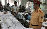 Vụ Thiếu tá CSGT bị tông trọng thương: Người lái xe máy có nồng độ cồn cao